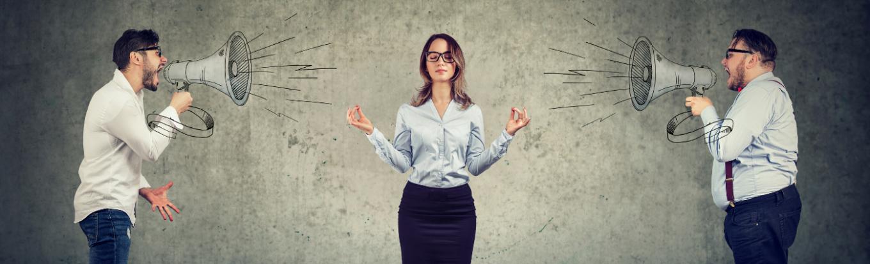 Como responder construtivamente a um conflito